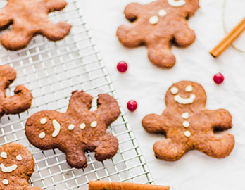 Gingerbread People made with Almond Flour Baking Mix Pumpkin Muffin & Bread Recipe