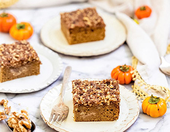 Pumpkin Coffee Cake made with Almond Flour Baking Mix Pumpkin Muffin and Bread Recipe