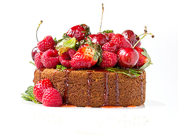 Red Berry Banana Bread