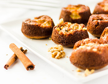 Upside Down Banana Cakes