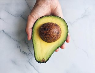 Half of an avocado is a nutrient dense food