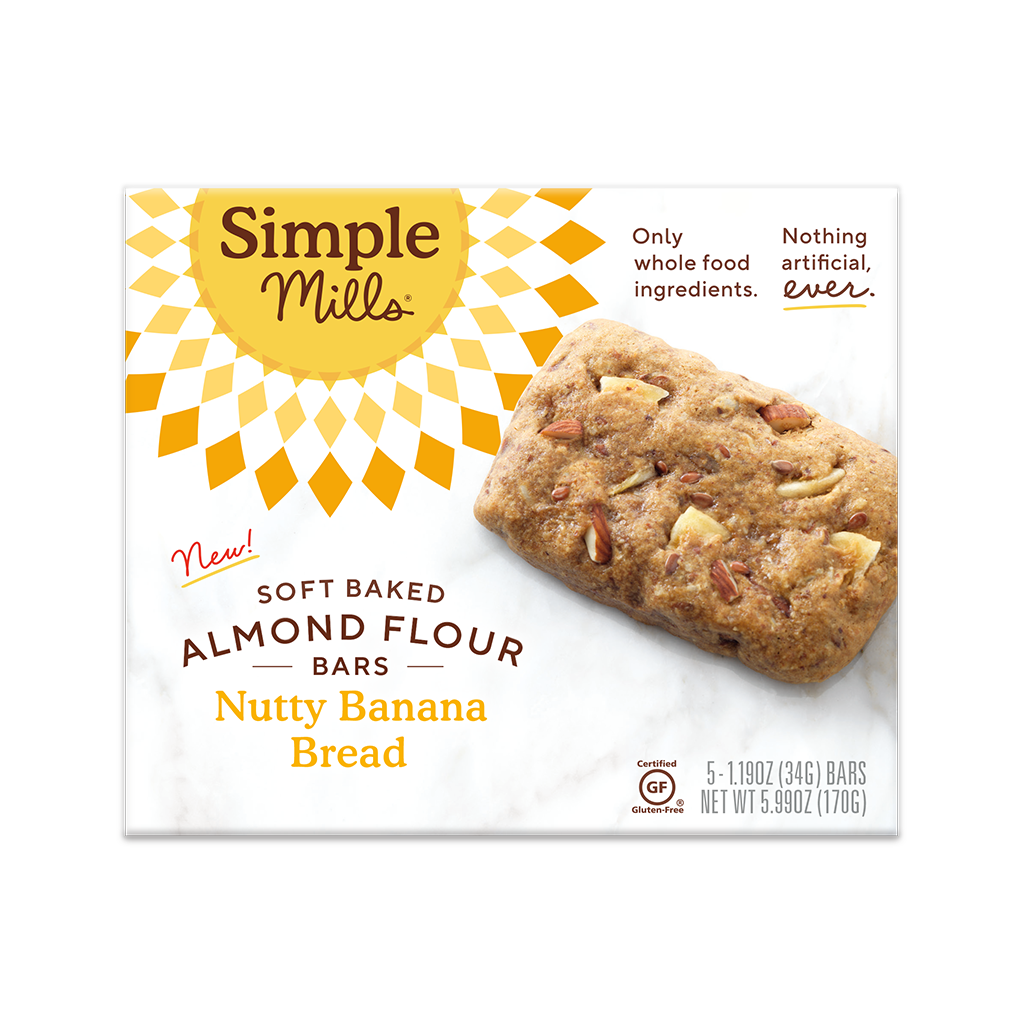 Our Best Soft Baked Almond Flour Bars Nutty Banana Bread