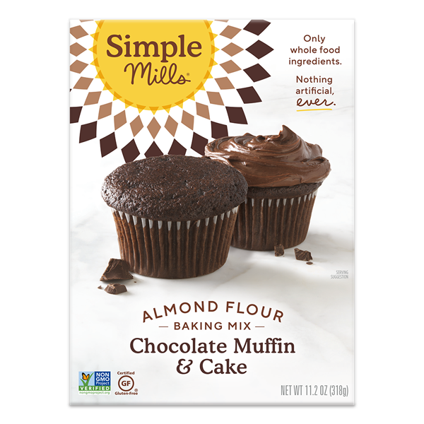 Simple Mills Almond Flour Baking Mix Chocolate Muffin & Cake