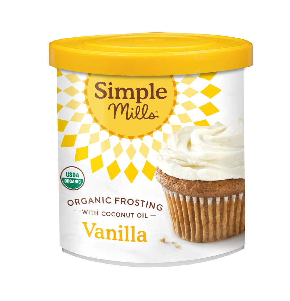 Simple Mills Organic Frosting with Coconut Oil Vanilla