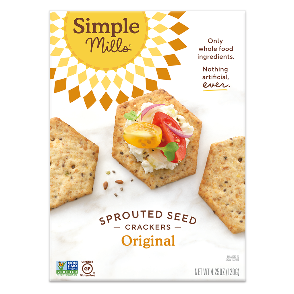 Sprouted Seed Crackers Original