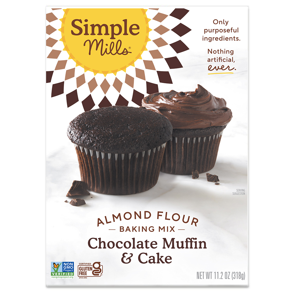 Almond Flour Baking Mix Chocolate Muffin & Cake