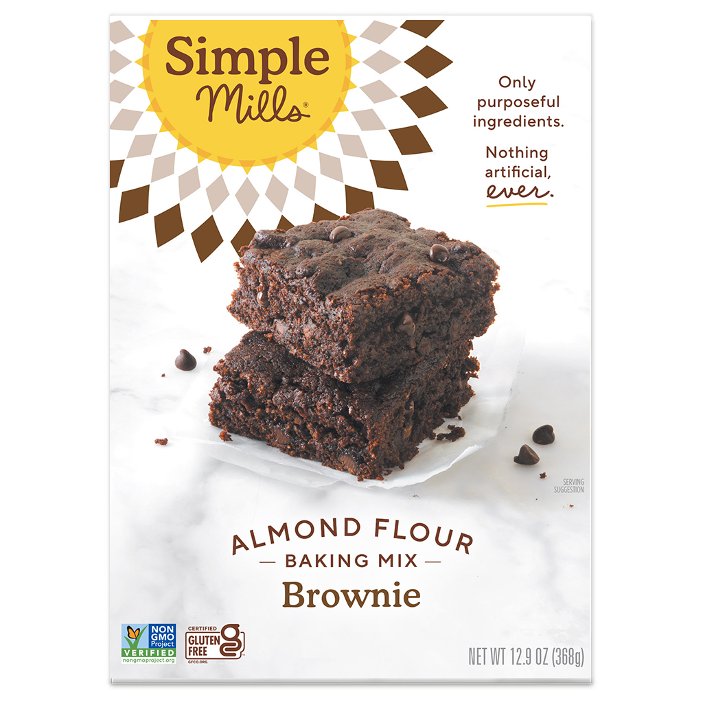 Almond Flour Baking Mix Brownie